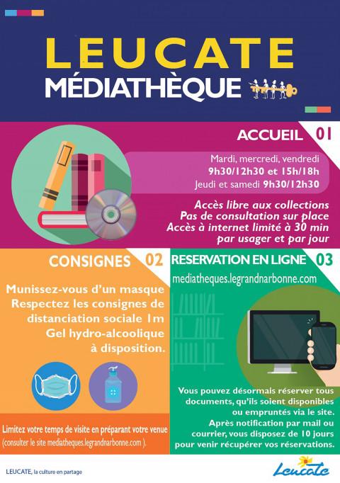 La Médiathèque réouvre ses portes au public