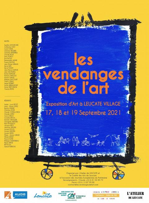 Deuxième édition des Vendanges de l'Art