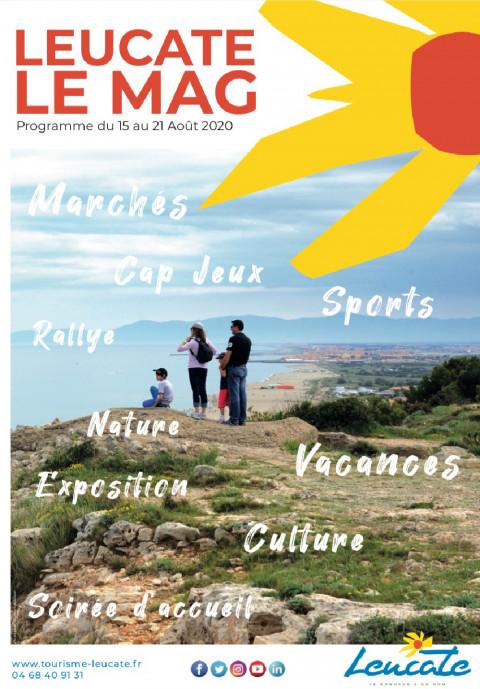 Leucate Le Mag - 15/21 août 2020