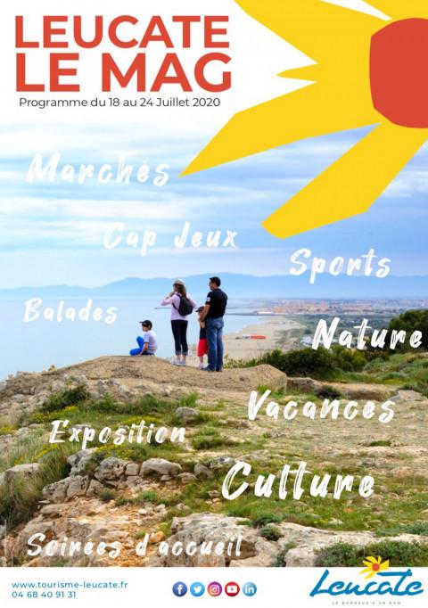 Leucate Le Mag - 18/24 juillet 2020