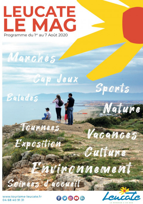 Leucate Le Mag - 1er/7 août 2020