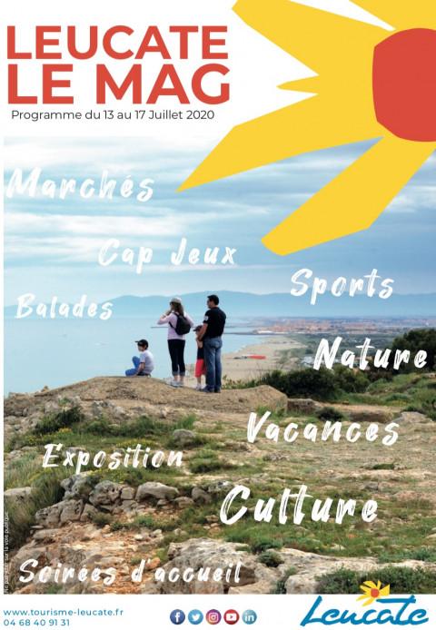 Leucate Le Mag - 13/17 juillet 2020