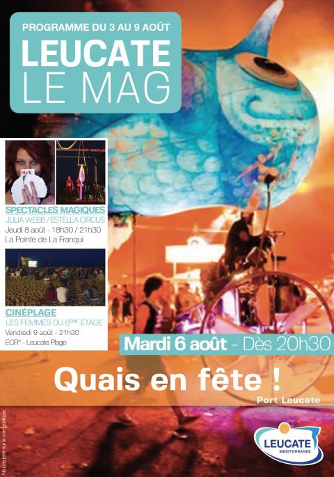Leucate Le Mag - 3/9 août 2019